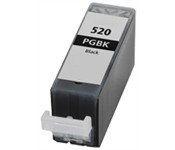 Tintenpatrone passend für Canon 2932B001 PGI-520BK ohne Chip schwarz