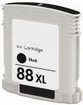 Tintenpatrone passend für HP C9396AE 88 schwarz High-Capacity