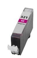 Tintenpatrone passend für Canon 2935B001 CLI-521M ohne Chip magenta