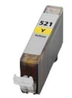 Tintenpatrone passend für Canon 2936B001 CLI-521Y ohne Chip yellow