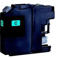 Druckerpatrone passend für Toner passend für Brother LC125XLC Tintenpatrone cyan, mit CHIP 1.200 Seiten für DCP-J 4110 W/MFC-J 4 für MFC-J 6520 DW