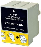 Tintenpatrone passend für Epson C13T03704010 T037 color