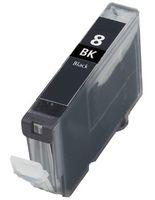 Tintenpatrone passend für Canon 0620B001 CLI-8BK ohne Chip schwarz